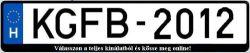KGFB 2012 tarifa